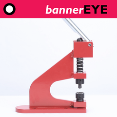 bannerEYE plastic banner eyelet press