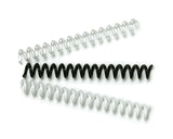 CLEARANCE - Plastic Binding Coils - Pack of 100