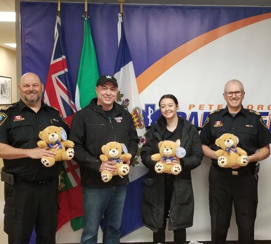Paramedics Share our Bear to Show They Care