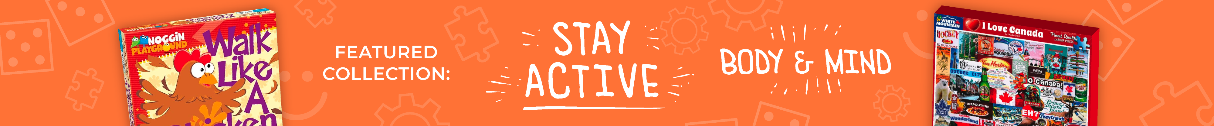 Stay Active - Body and Mind