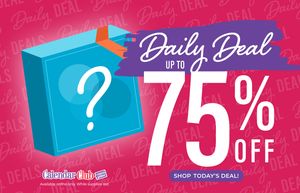 Daily Deal up to 75% off!