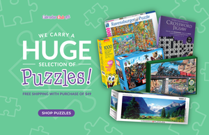 We carry a HUGE selection of Jigsaw Puzzles