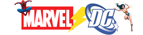 DC and Marvel Logo