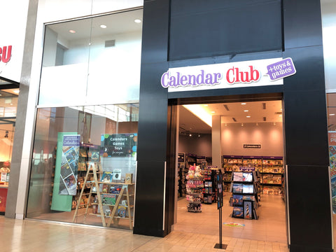 Calendar Club Canada storefront at Yorkdale Shopping Centre