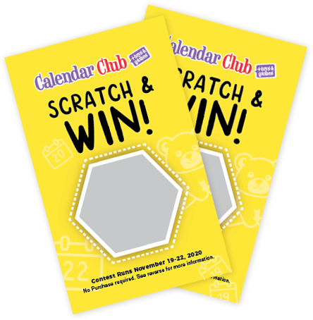 Scratch and Win tickets