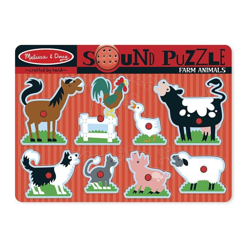 Farm Animals Sound Puzzle - Calendar Club of Canada