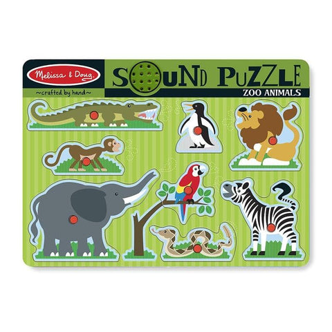Zoo Animals Sound Puzzle - Calendar Club of Canada