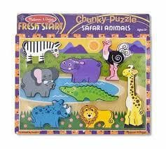 Safari Chunky Puzzle - Calendar Club of Canada - 1
