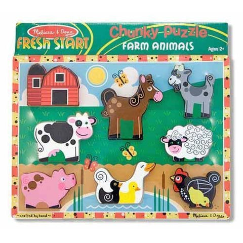 Farm Animals Chunky Puzzle - Calendar Club of Canada
