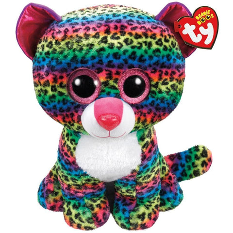 Dotty Leopard Multicolor Large Plush Product Packaging Image