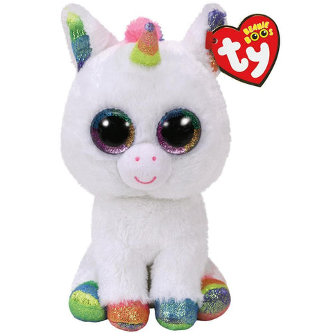 Pixy the Unicorn (white) Beanie Boo