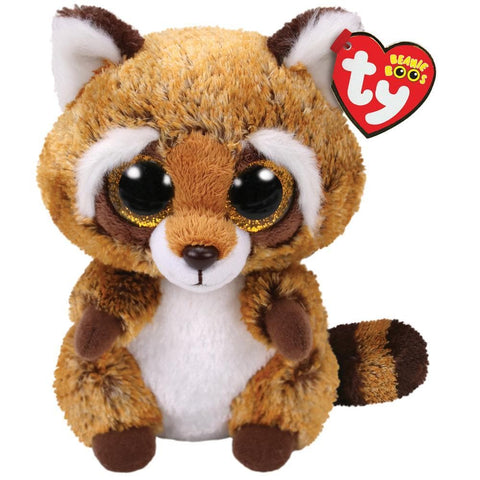 008421369416 Rusty Brown White Raccoon Boo Ty - Calendar Club