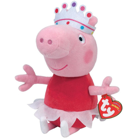Ballerina Peppa Beanie Boo Product Packaging Image