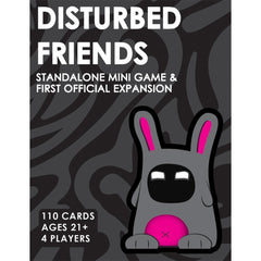 013964999488 Disturbed Friends Mini Game Friendly Rabbit Inc - Calendar Club1