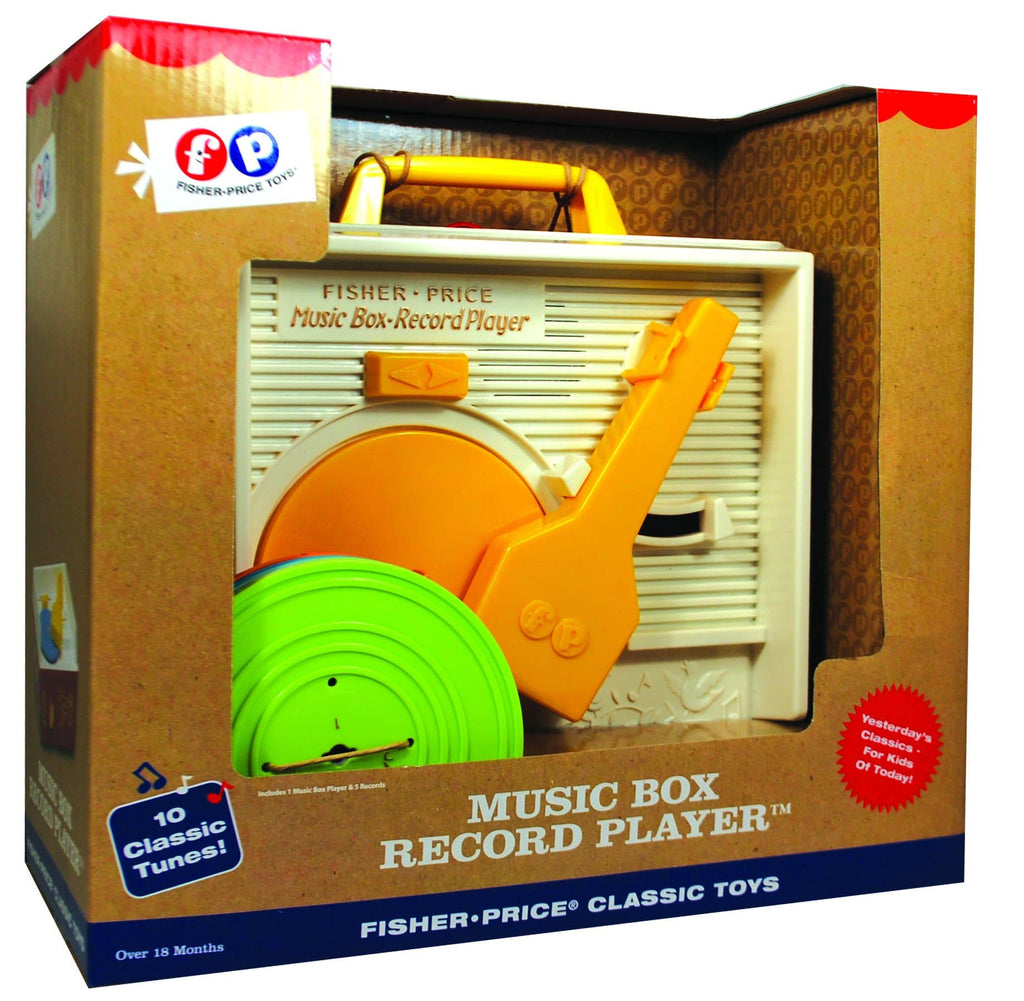Fisher Price Record Player - Calendar Club of Canada