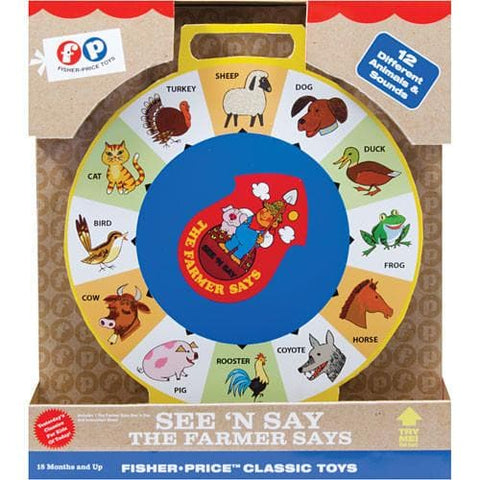 Fisher Price See N Say - Calendar Club of Canada