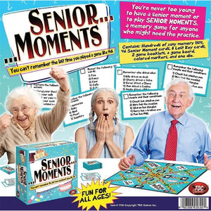 Senior Moments Product Packaging  Image