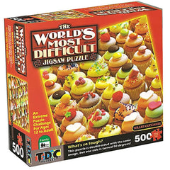 Killer Cupcakes Food Puzzle 500 Piece