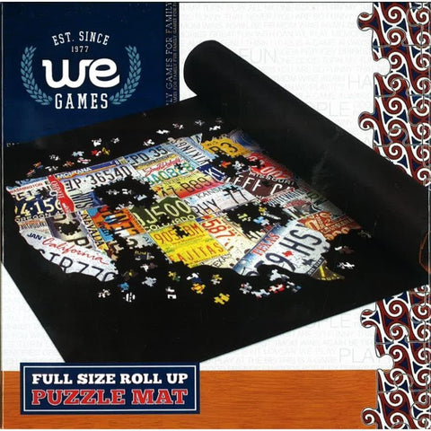 Collapsible Full Size Puzzle Roll Up Storage Solution