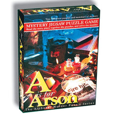 A is for Arson Multiple Mystery Puzzle 500 Piece