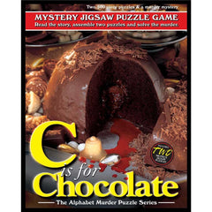 C is for Chocolate Multiple Mystery Puzzle 500 Piece