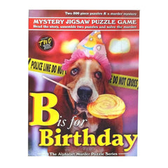 B is for Birthday 2 Mystery Puzzles 500 Piece