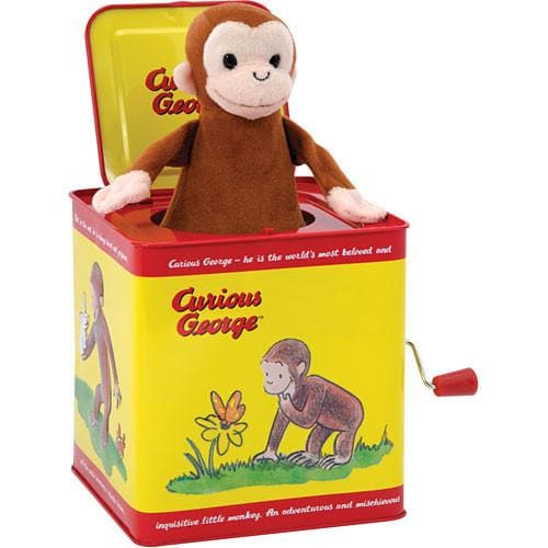 Curious George Jack in the Box - Calendar Club of Canada