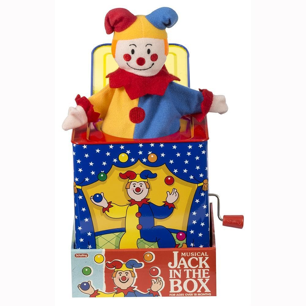 Jack in the Box Jester - Calendar Club of Canada