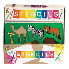 Art Box Stencils Unit  Assorted Styles - Each Sold Separately