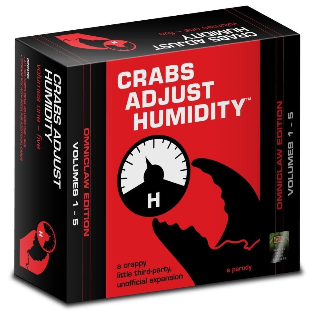 Crabs Adjust Humidity Omniclaw Edition - Calendar Club of Canada - 1