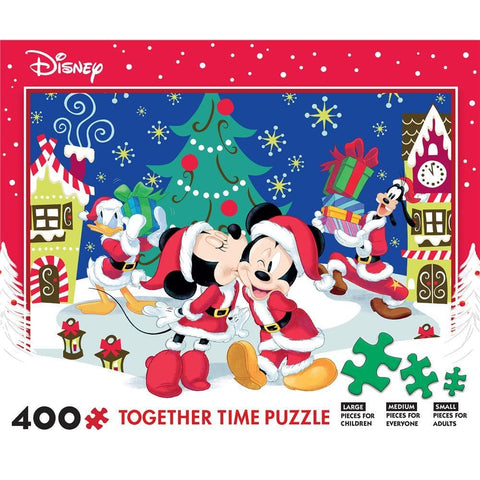 Disney Holiday 400 pc Puzzle Assortment