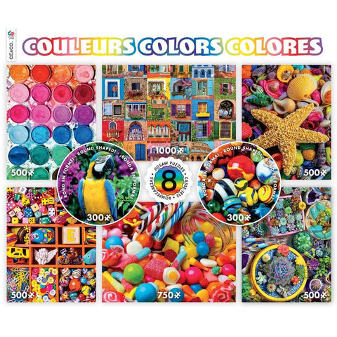 Colors 8 in 1 Jigsaw Puzzles