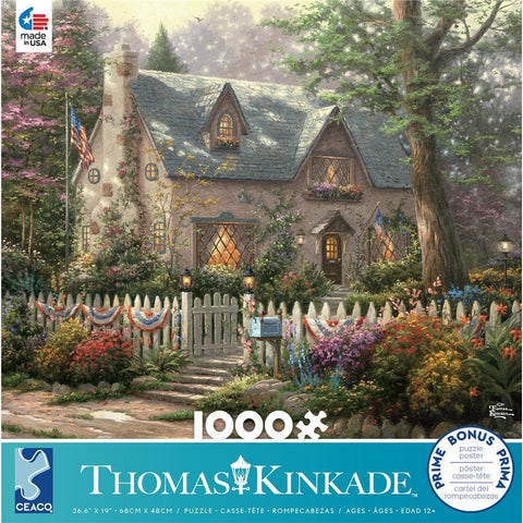 Kinkade Assorted 1000 Pc Puzzles Assortment - Each Sold Separately