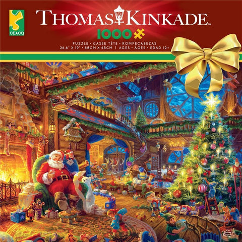Kinkade Winter Scenes 1000 pc Puzzles Assortment - Each Sold Separately
