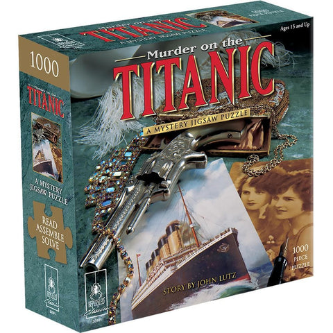 Murder on the Titanic Mystery Puzzle