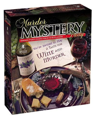 023332200115 Murder Mystery Party A Taste For Wine And