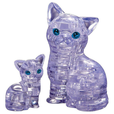 Cat and Kitten 3D Puzzle - Calendar Club of Canada
