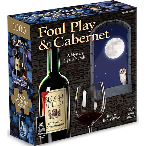 Foul Play and Cabernet Mystery Puzzle