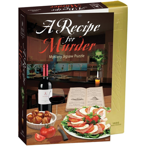 Recipe for Murder Mystery Puzzle 1000 Piece