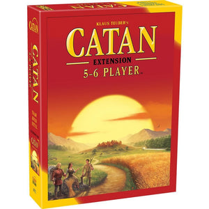 Catan 5-6 Player Extension Strategy Game - Calendar Club Canada