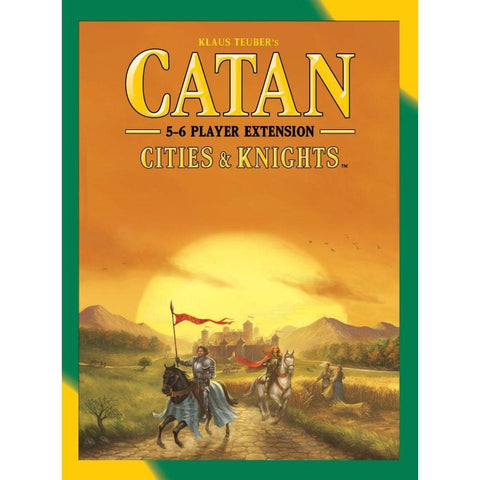 Catan  Cities and Knights 5-6 Player expansion  packaging
