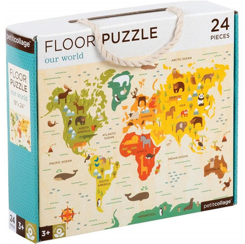Our World Childrens Learning Floor Puzzle 24 Piece