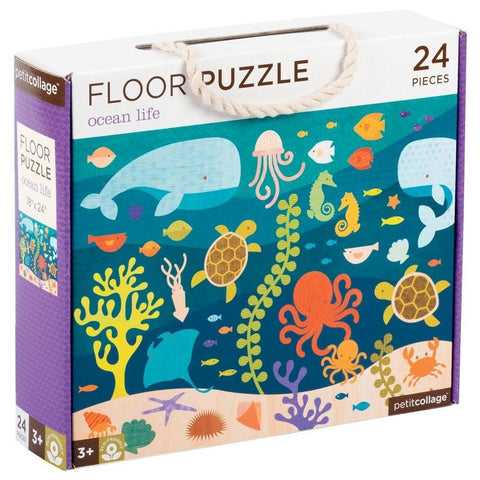 Ocean Life Childrens Animal Floor Puzzle 24 Piece