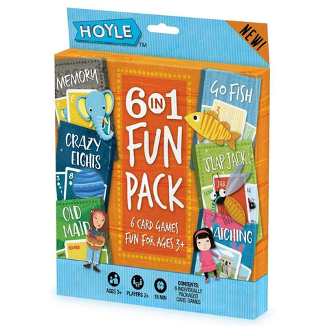 Hoyle 6 in1 Fun Pack