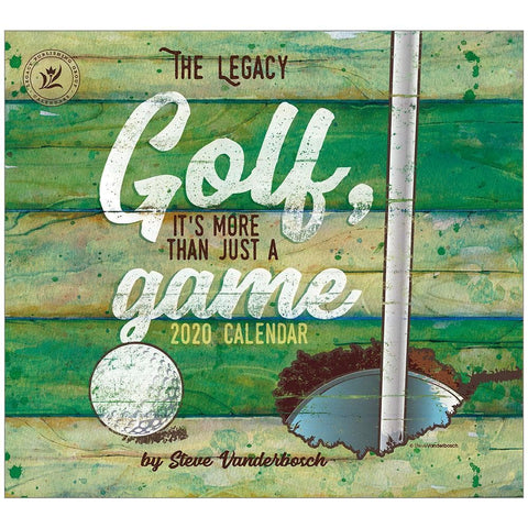 Golf Its More Than Just A Game 2020 Wall Calendar Front Cover