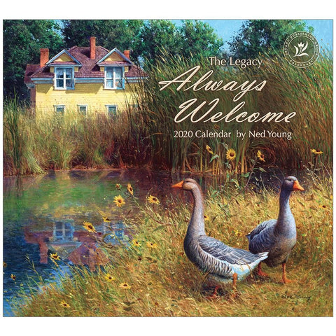 Always Welcome 2020 Wall Calendar Front Cover