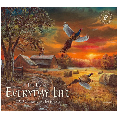 Everyday Life 2020 Wall Calendar Front Cover
