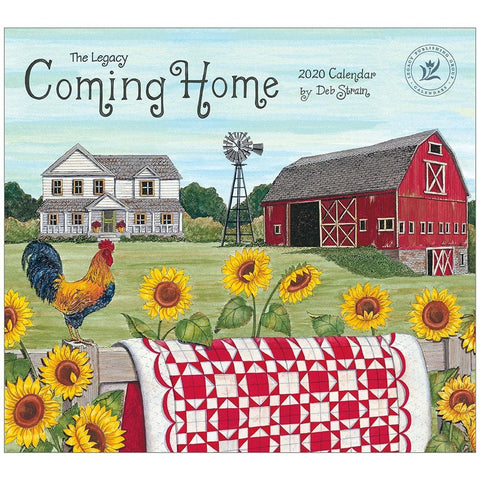 Coming Home 2020 Wall Calendar Front Cover