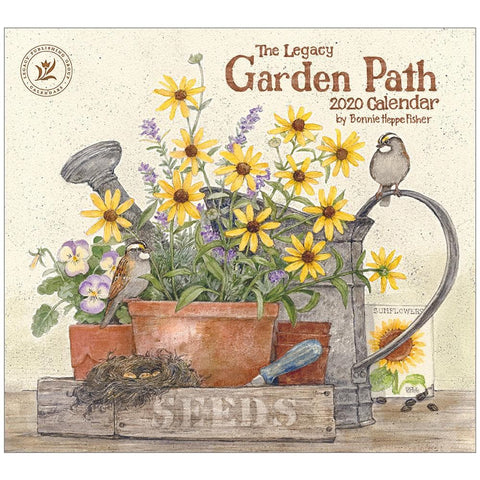 Garden Path 2020 Wall Calendar Front Cover