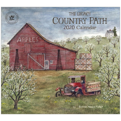 Country Path 2020 Wall Calendar Front Cover